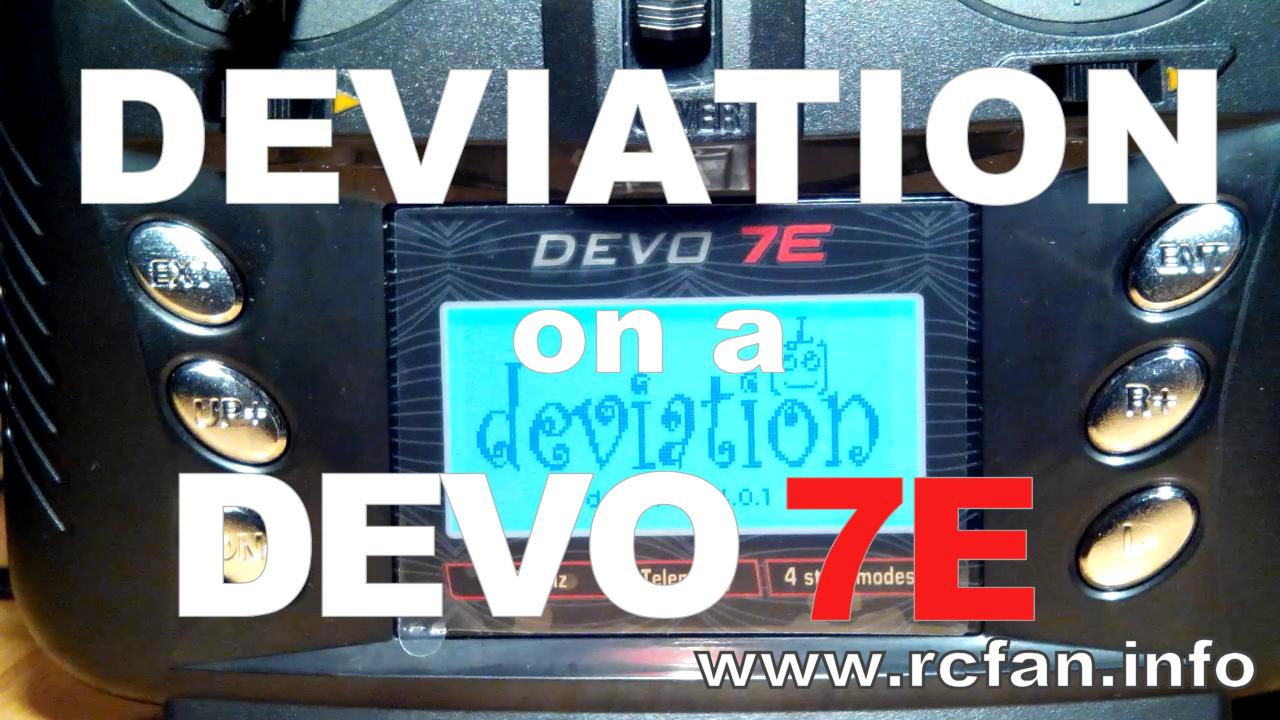 Install DEVIATION on a Walkera Devo transmitter
